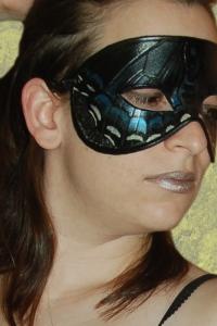 Black Swallowtail Butterfly Mask