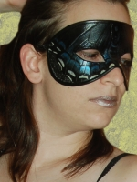 Black Swallowtail Butterfly Mask