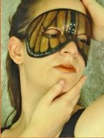 Monarch Butterfly Mask