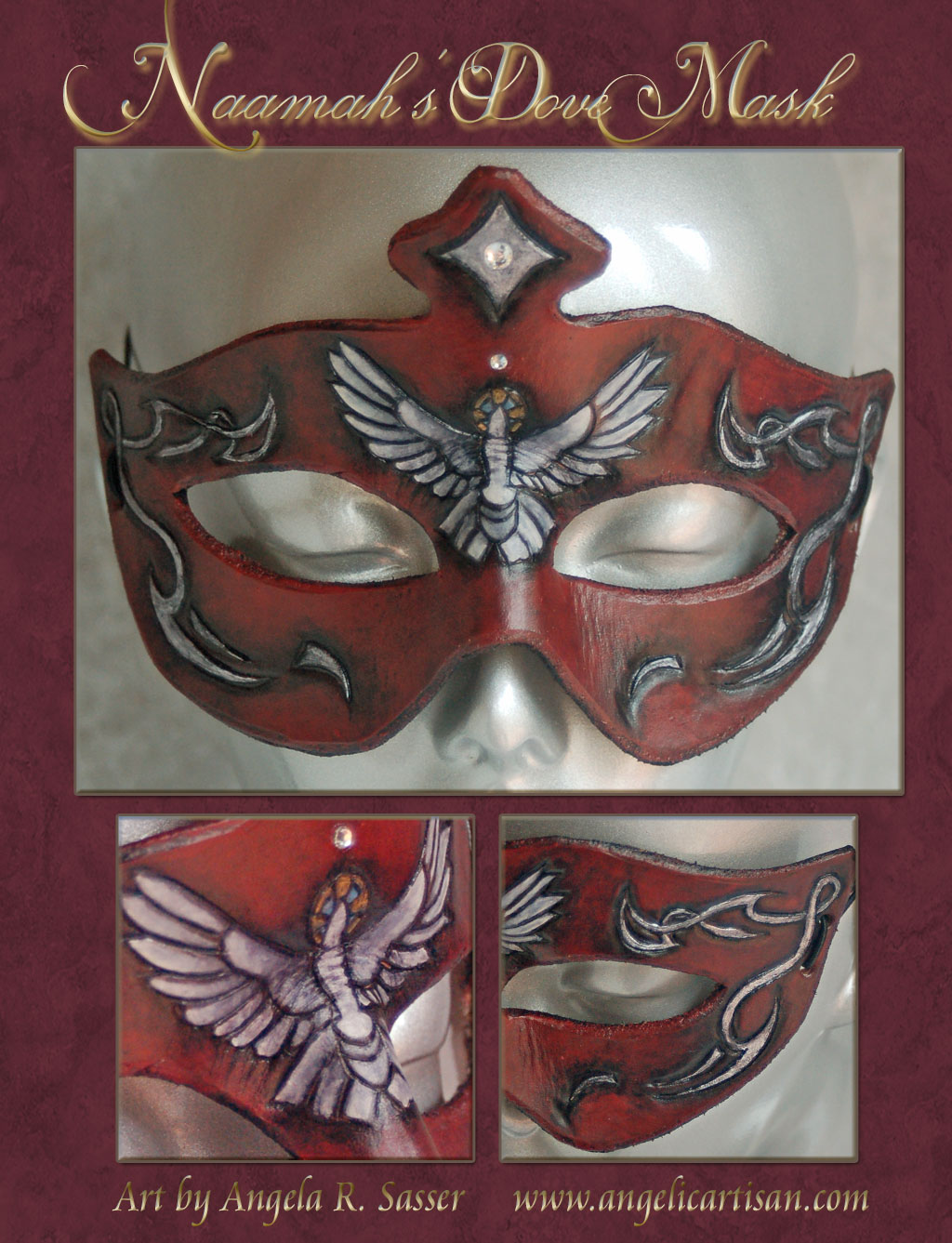 Naamah's Dove Mask