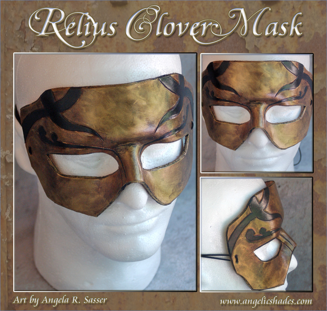 Relius Clover BlazBlue Mask