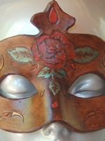 Kushiel's Rose Columbina Mask