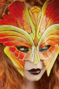 Fire Seraphim Mask