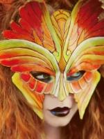 Fire Seraphim Mask