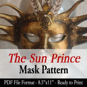 Mask Pattern - The Sun Prince